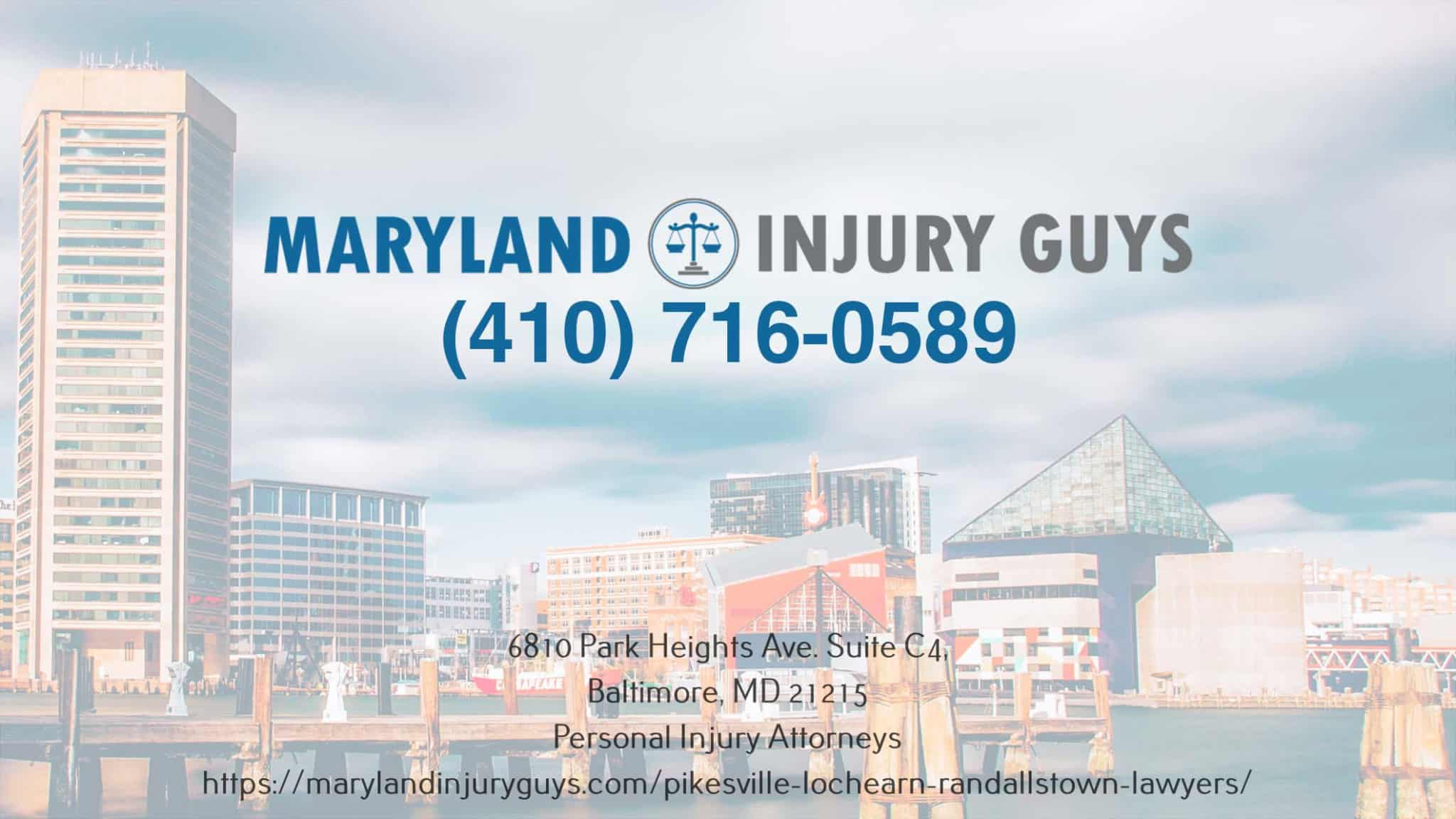 maryland injury guys law office